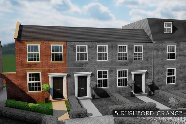 Thumbnail End terrace house for sale in Rushford Grange, Pitchill, Salford Priors, Evesham