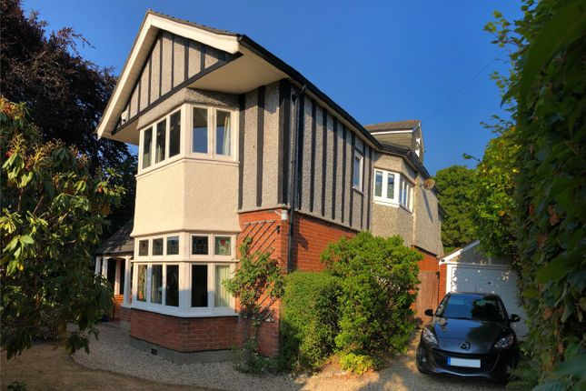 Thumbnail Detached house for sale in Oban Road, Talbot Woods, Bournemouth