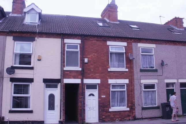 Thumbnail Terraced house to rent in Mansfield Road, Sutton-In-Ashfield