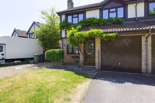 Thumbnail Semi-detached house to rent in Woodlands, Chineham, Basingstoke