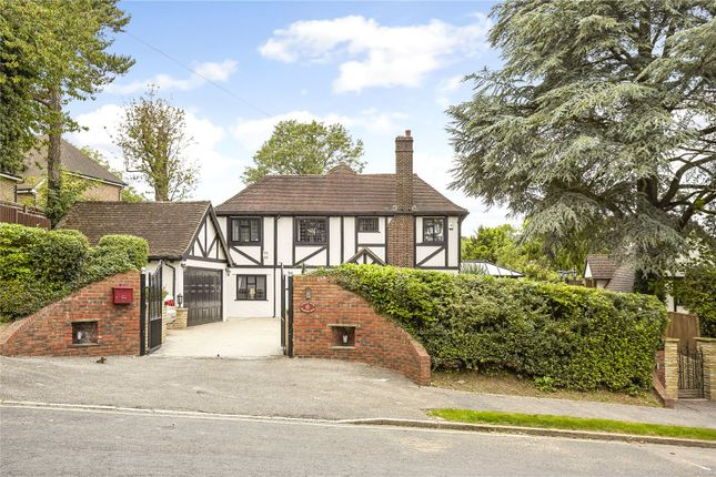 Thumbnail Detached house for sale in Starrock Road, Chipstead