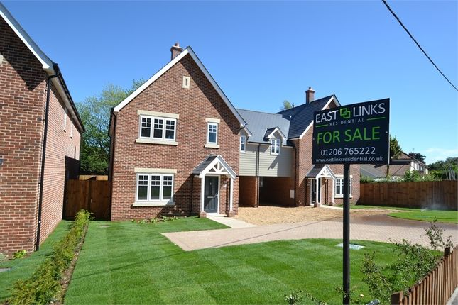 Thumbnail Semi-detached house for sale in Warren Lane, Stanway, Colchester, Essex