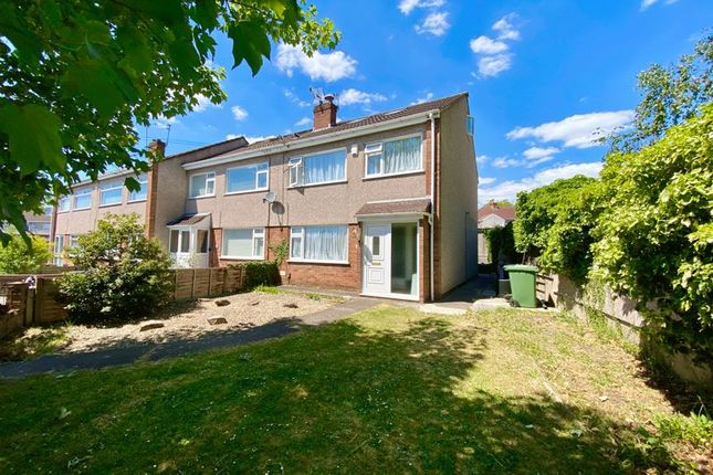 Thumbnail Semi-detached house for sale in Alexandra Place, Staple Hill, Bristol