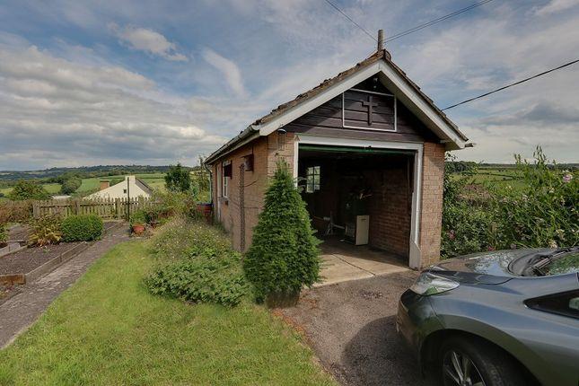Garage of English Bicknor, Coleford, Gloucestershire. GL16