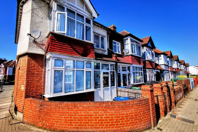 Thumbnail End terrace house to rent in Durnsford Road, Wimbledon Park, London