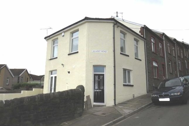 Thumbnail End terrace house for sale in Quarry Road, Pontypridd