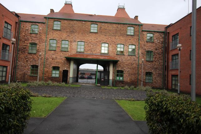 Thumbnail 1 bed flat to rent in Hartley Court, Stoke On Trent