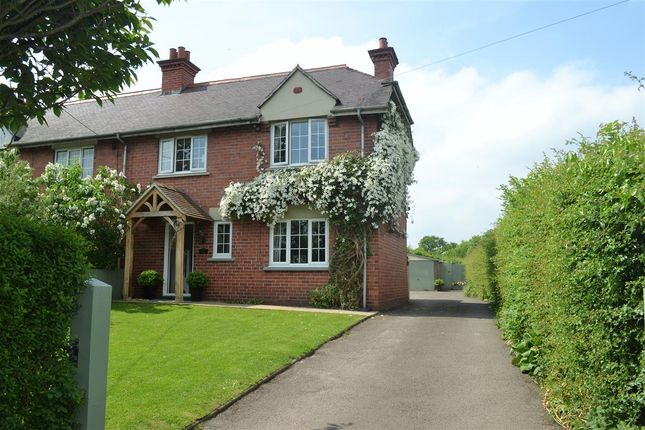 Thumbnail Semi-detached house to rent in Hawthorn Cottage, Kidnal, Malpas