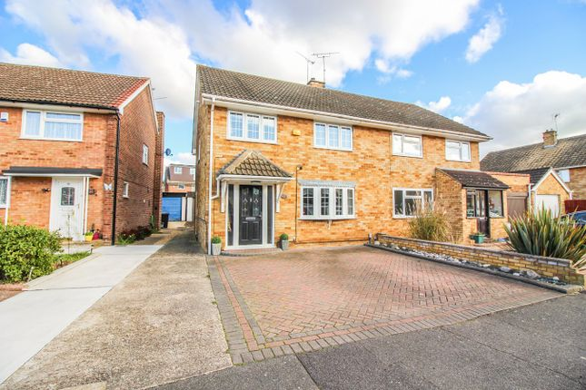 Thumbnail Semi-detached house for sale in Sakins Croft, Harlow