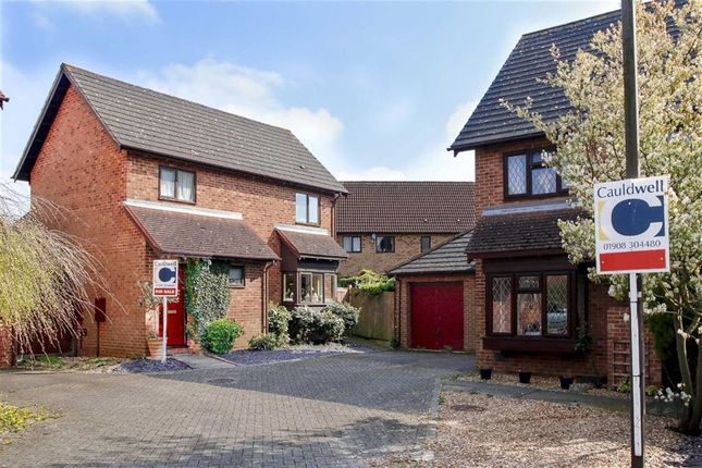 Thumbnail Detached house for sale in Gaddesden Crescent, Wavendon Gate, Milton Keynes