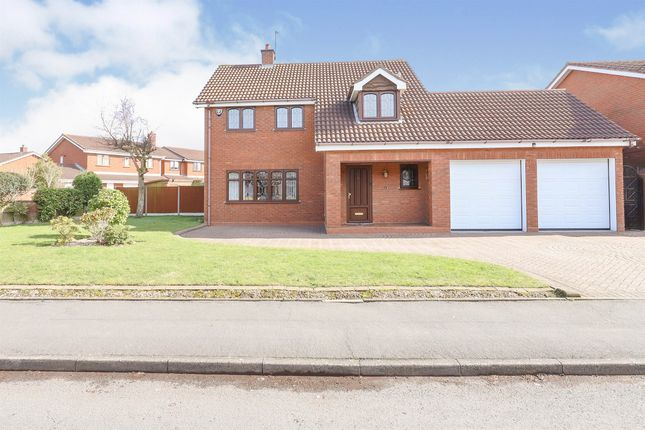 Thumbnail Detached house for sale in Meadow Grange Drive, Coppice Farm, Willenhall