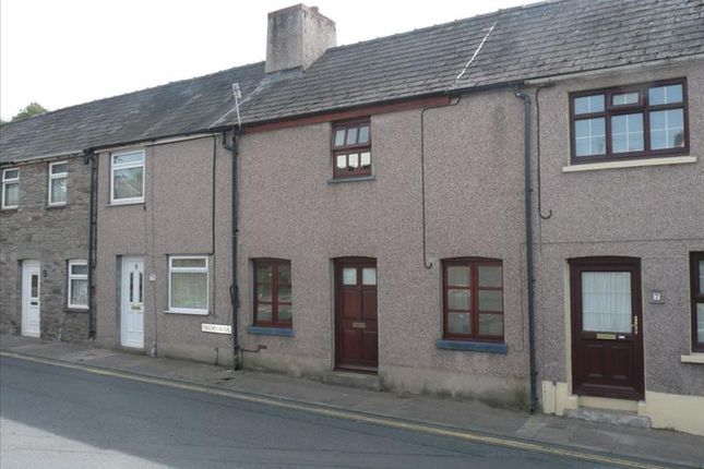 Thumbnail Terraced house to rent in Maendu Street, Brecon