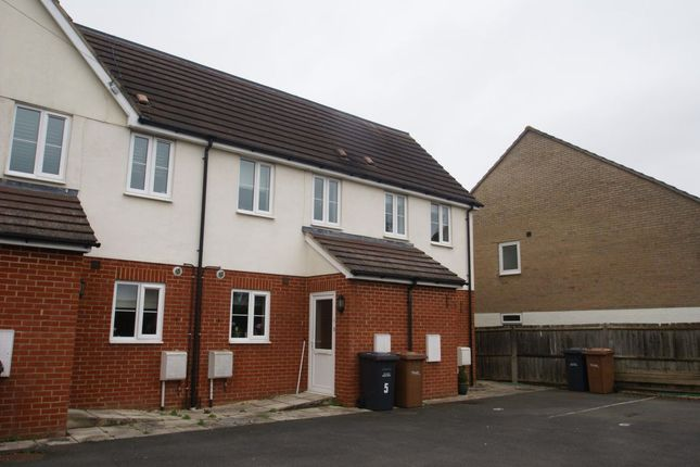 Thumbnail Terraced house to rent in The Beeches, Weyhill Road, Andover