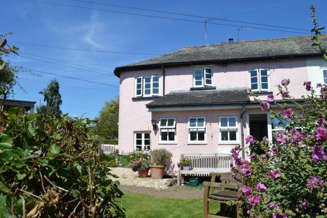 Thumbnail Terraced house for sale in Salmon Hutch, Uton, Crediton, Devon