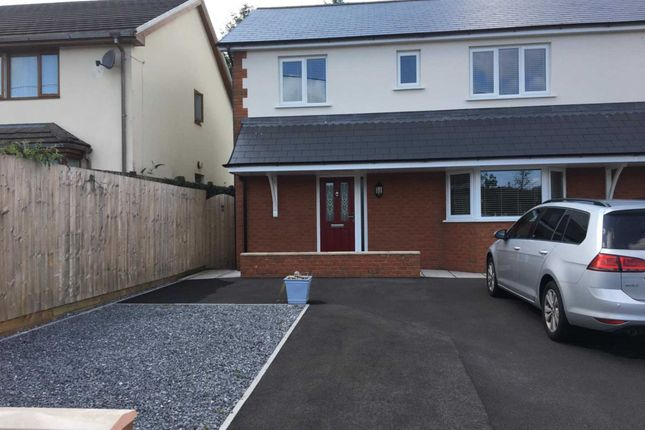 Thumbnail 4 bed detached house to rent in Roman Road, Banwen, Neath