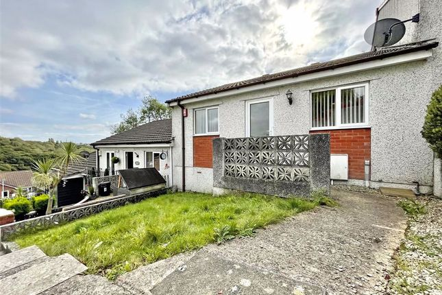 Thumbnail Terraced bungalow for sale in Erlstoke Close, Eggbuckland, Plymouth