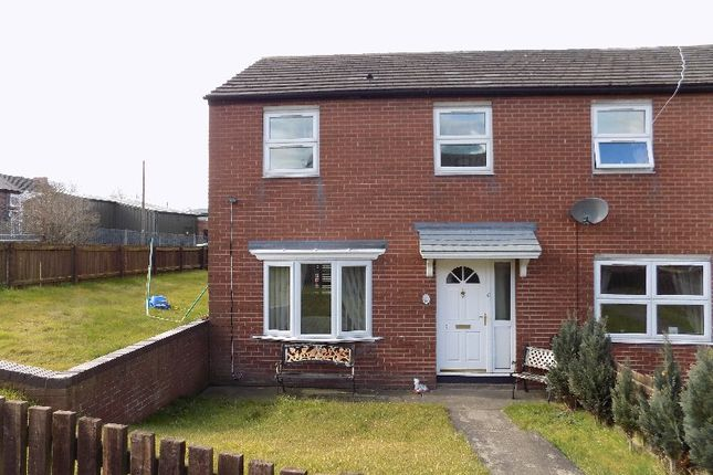 Thumbnail End terrace house for sale in Deanery Court, Eldon Lane, Bishop Auckland