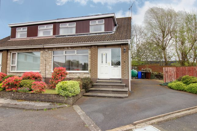 Thumbnail Semi-detached house for sale in Mahee Island Park, Newtownards