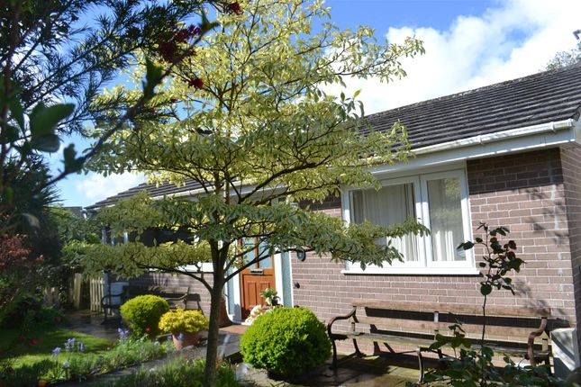 Thumbnail Detached bungalow for sale in Brook Drive, Bude