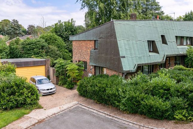 Thumbnail End terrace house for sale in Michael Fields, Forest Row