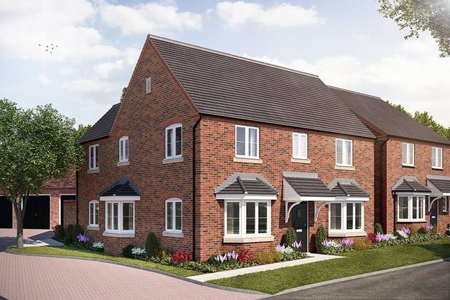 "Thumbnail Detached house for sale in ""The Halford"" at Broughton Road, Banbury"