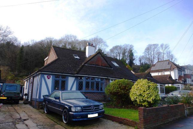 Thumbnail Bungalow for sale in Dene Vale, Westdene, Brighton
