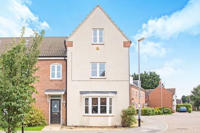 Thumbnail Semi-detached house for sale in Langridge Circle, Watlington, King's Lynn