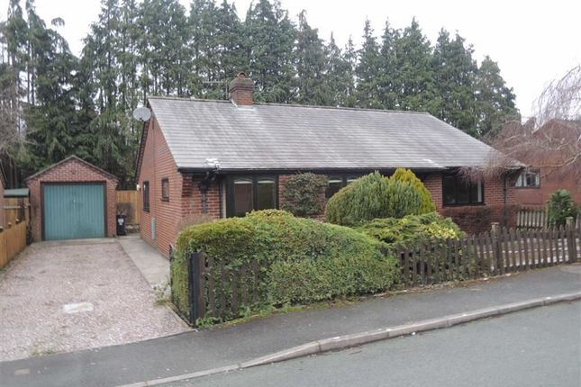 Thumbnail Detached bungalow to rent in 4, Court Close, Abermule, Montgomery, Powys
