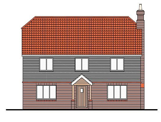 Thumbnail Detached house for sale in The Paddocks, Thoresby Road, Tetney