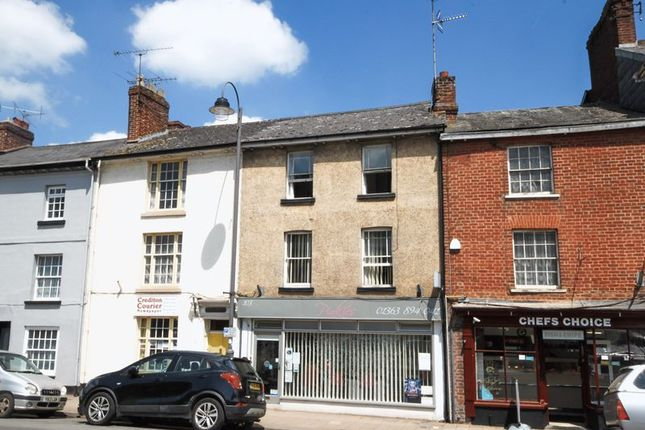 Thumbnail Flat to rent in High Street, Crediton