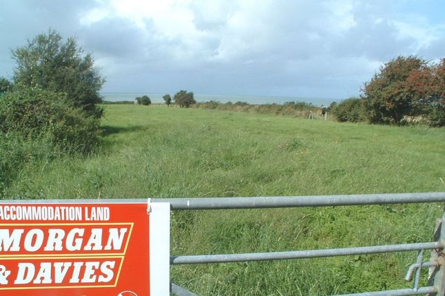 Thumbnail Land for sale in Next Door To Llwynon, Llanon
