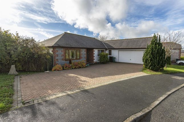 Thumbnail Detached bungalow for sale in Baydown, Looe