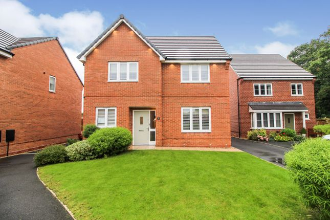 Thumbnail Detached house for sale in Carina Park, Westbrook, Warrington