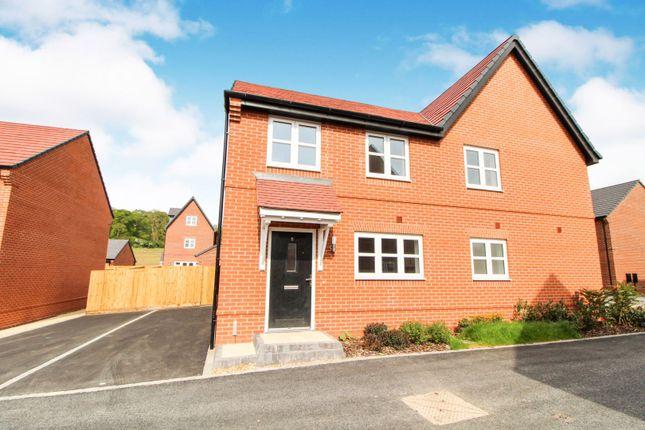 Thumbnail Semi-detached house for sale in 6 Wheatcroft Drive, Edwalton