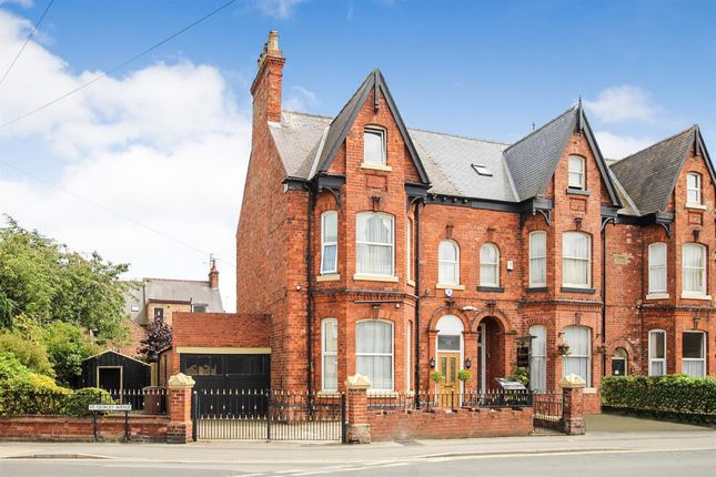 Thumbnail End terrace house for sale in Wellington Road, Bridlington