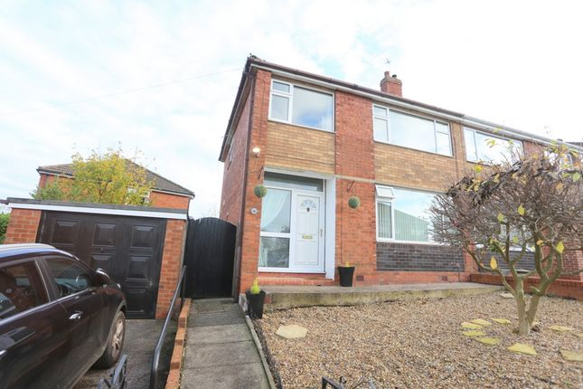 Thumbnail Semi-detached house for sale in Denstone Crescent, Blurton