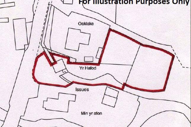 Title Plan of Pentre-Cwrt, Llandysul SA44