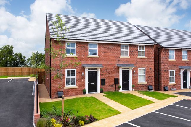 "Thumbnail Semi-detached house for sale in ""Ashurst"" at Hurst Lane, Auckley, Doncaster"