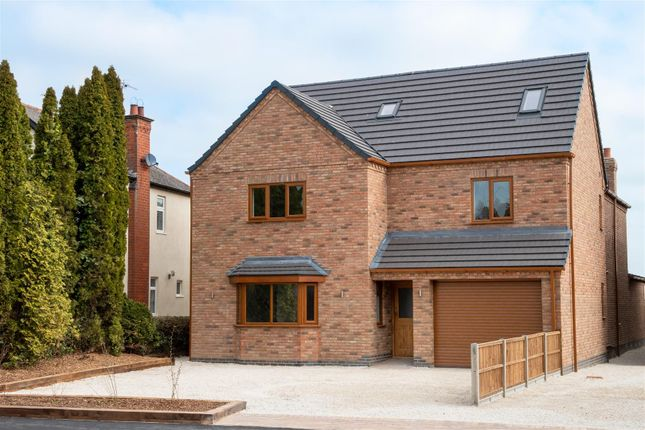 Thumbnail Detached house for sale in Lutterworth Road, Burbage, Hinckley