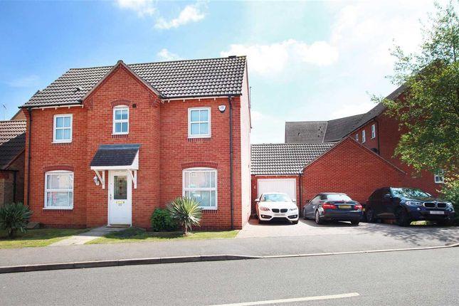 Thumbnail Detached house for sale in John Lea Way, Wellingborough