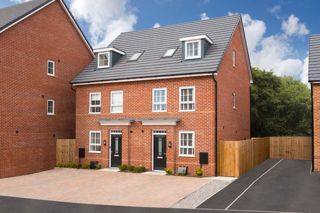 "Thumbnail Semi-detached house for sale in ""Helmsley"" at Winnington Avenue, Northwich"