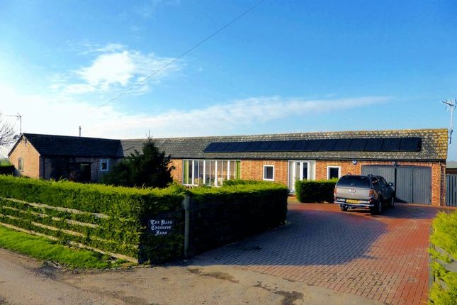 Thumbnail Country house for sale in Goredike Bank, Gorefield, Cambridgeshire
