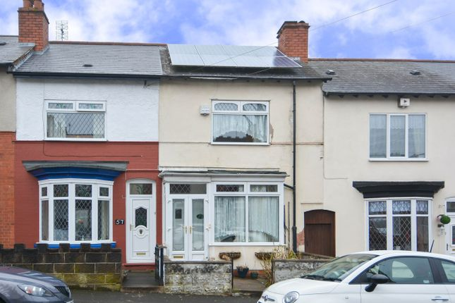 Thumbnail Terraced house for sale in Marlborough Road, Bearwood