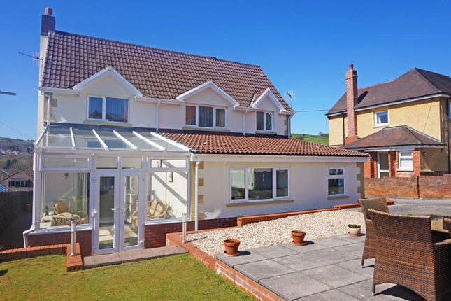 Thumbnail Detached house for sale in The Walk, Ystrad Mynach, Hengoed