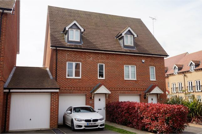 Thumbnail Semi-detached house for sale in Greystones, Ashford