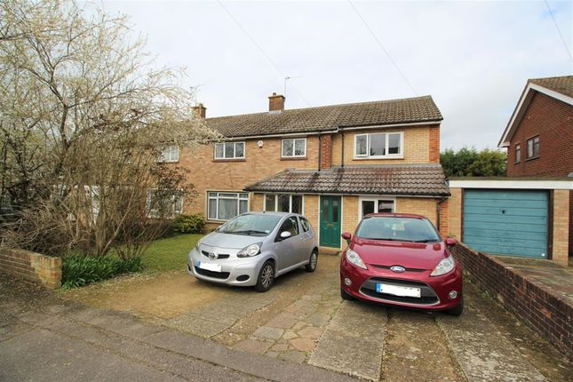 Thumbnail Semi-detached house to rent in Blackwell Avenue, Guildford