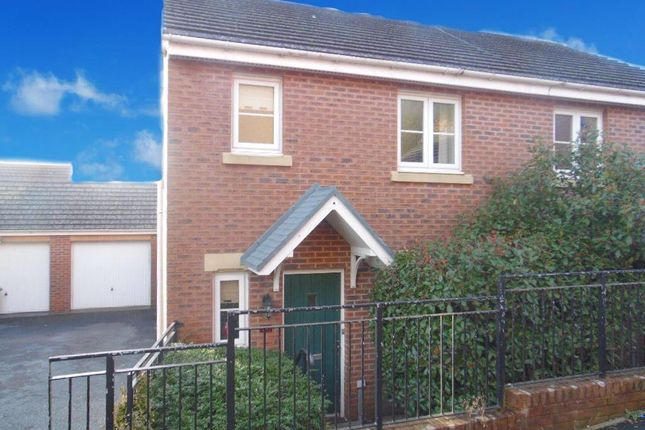 Thumbnail Semi-detached house to rent in Glas Y Gors, Aberdare