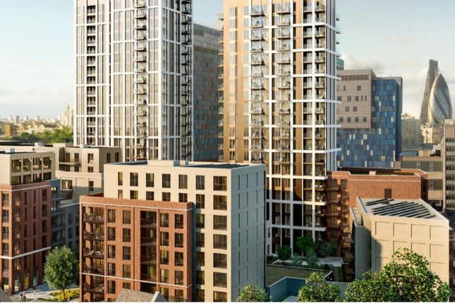 1 bed flat for sale in The Jacquard Tower, The Silk District, Whitechapel E1