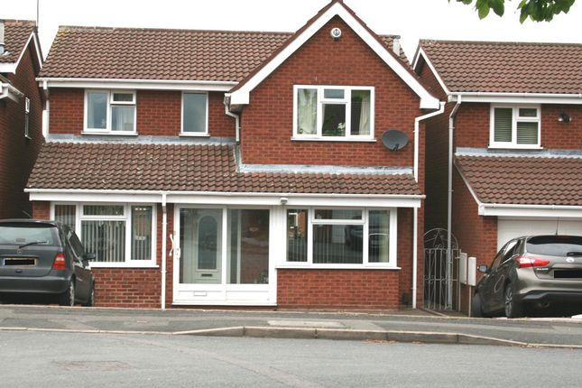 Thumbnail Detached house to rent in Elwells Close, Bilston
