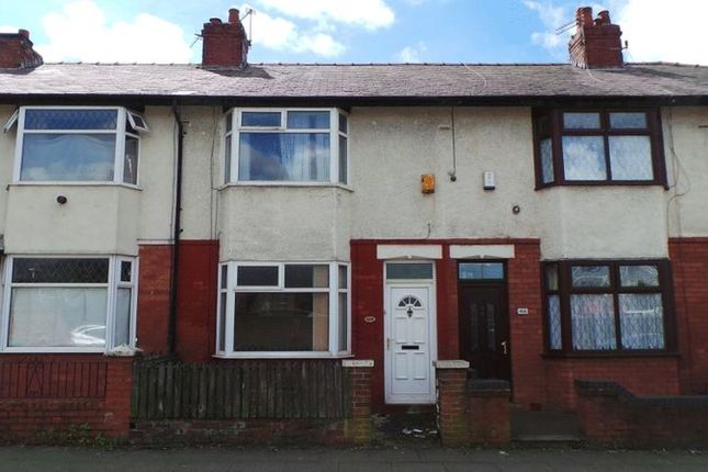 Thumbnail 2 bed terraced house for sale in St Georges Road, Deepdale, Preston